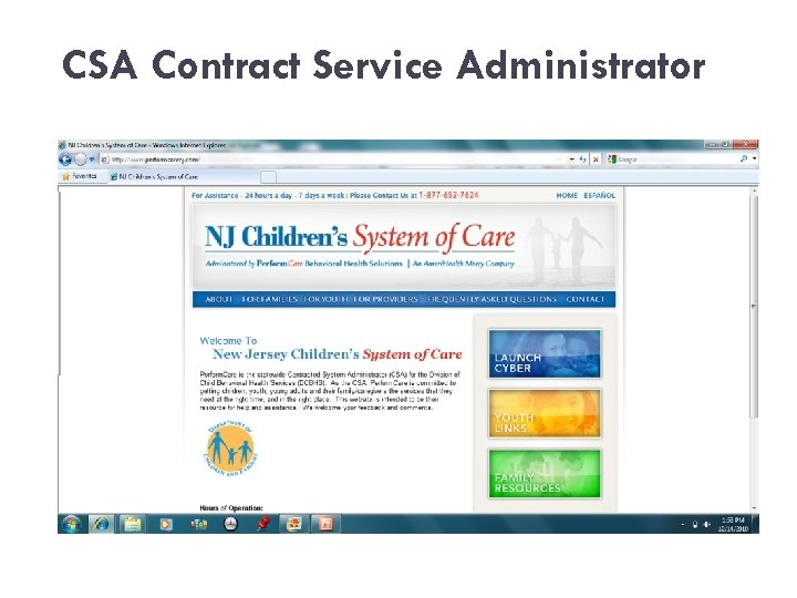 CSA Contract Service Administrator