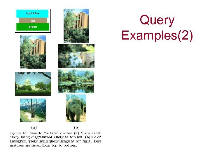 Query Examples(2)