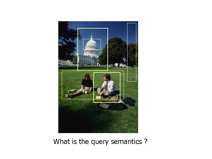 What is the query semantics ?