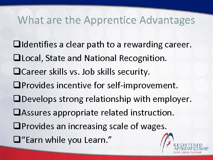 Click the Apprentice Advantages What areto edit Master title style q. Identifies a clear