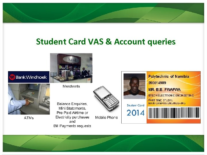 Student Card VAS & Account queries