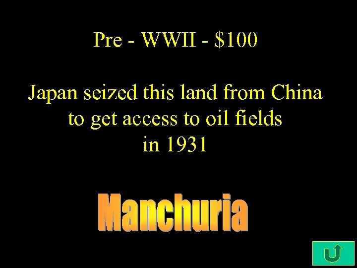 Pre - WWII - $100 Japan seized this land from China to get access