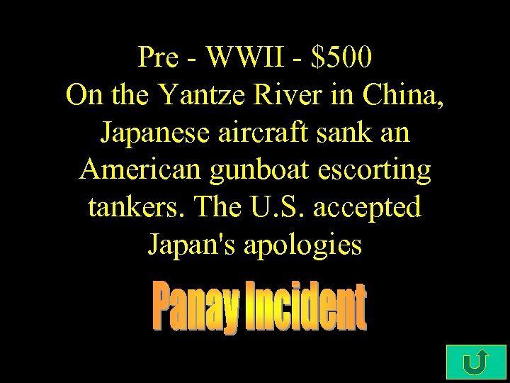 Pre - WWII - $500 On the Yantze River in China, Japanese aircraft sank
