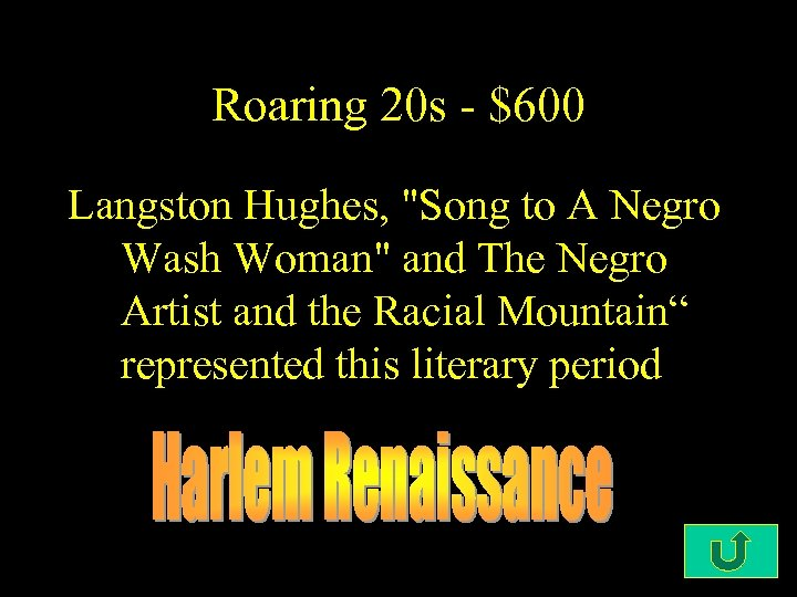 Roaring 20 s - $600 Langston Hughes,