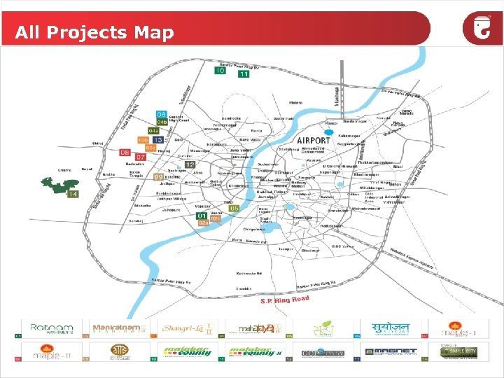 All Projects Map