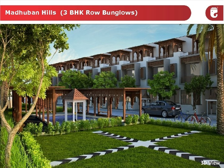 Madhuban Hills (3 BHK Row Bunglows) 3 D View