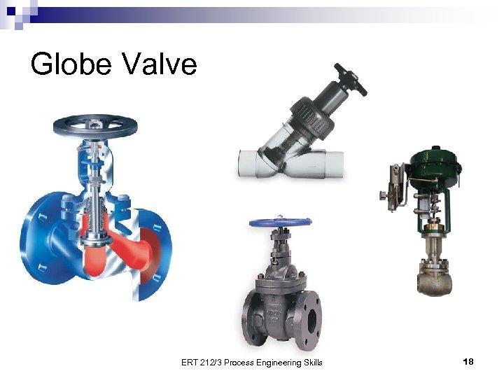 Globe Valve ERT 212/3 Process Engineering Skills 18