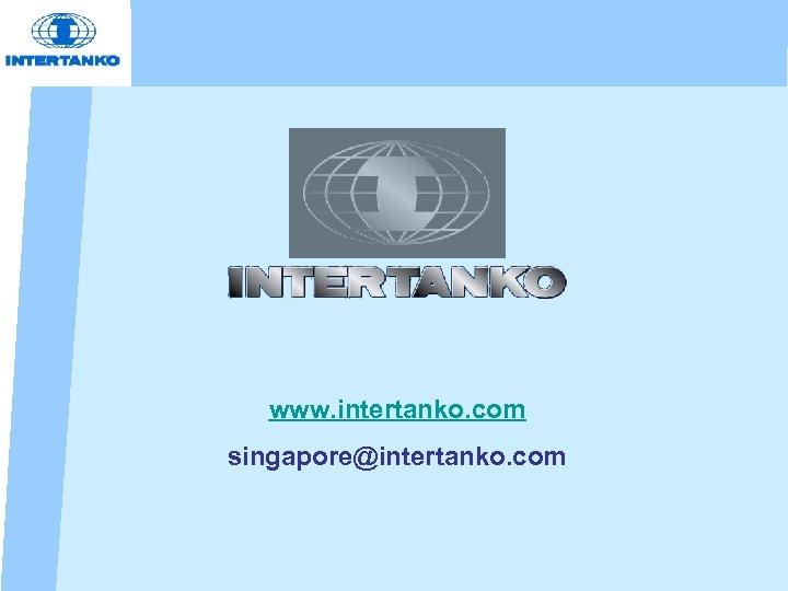 www. intertanko. com singapore@intertanko. com