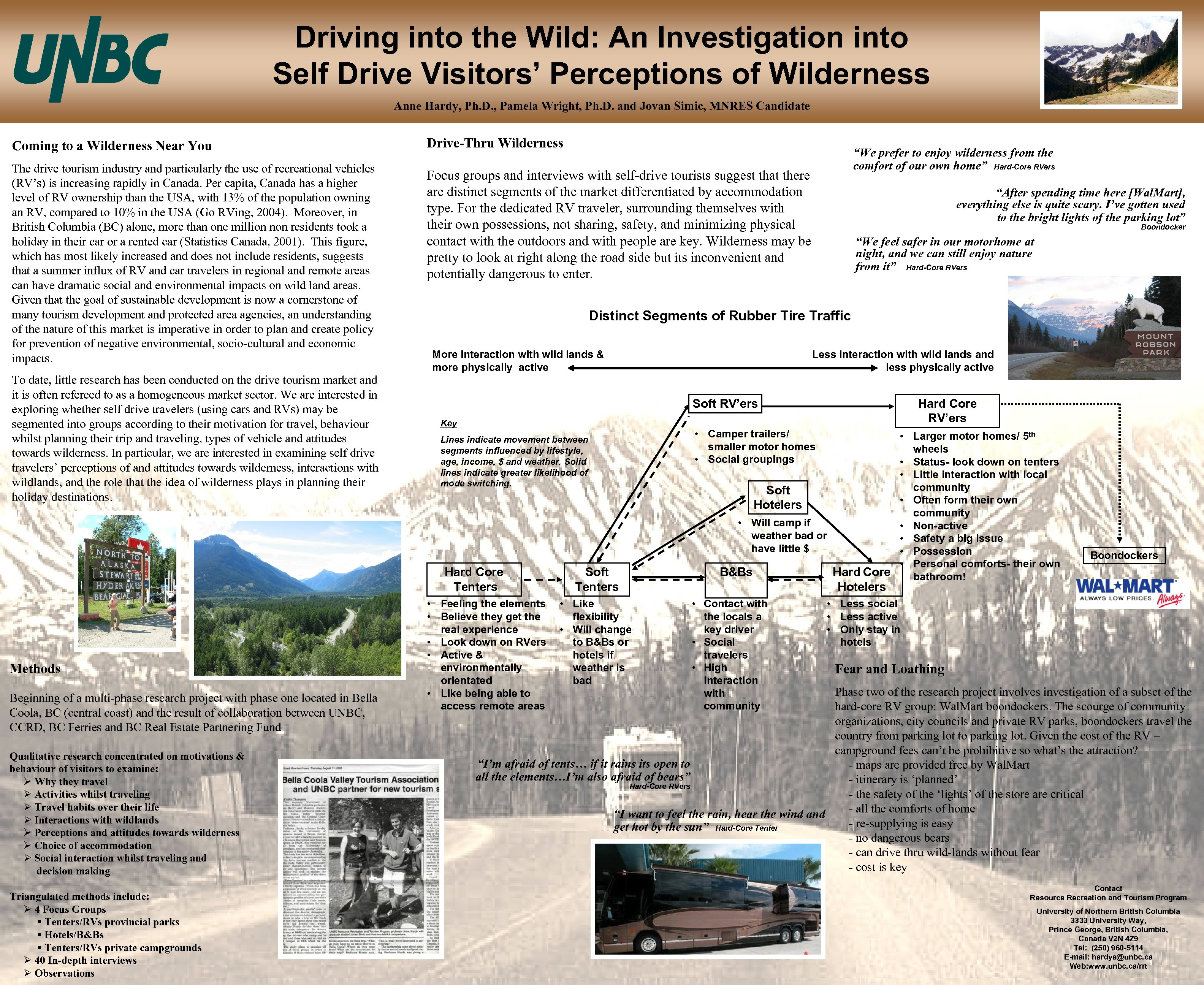 Driving into the Wild: An Investigation into Self Drive Visitors' Perceptions of Wilderness Anne
