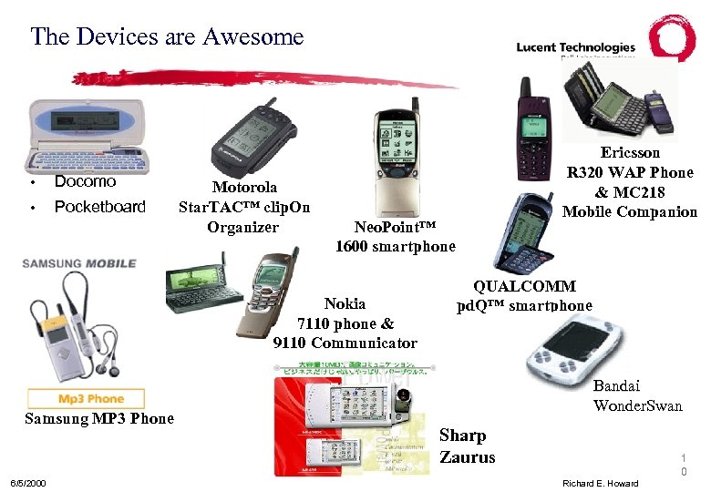The Devices are Awesome • Docomo • Pocketboard Motorola Star. TAC™ clip. On Organizer