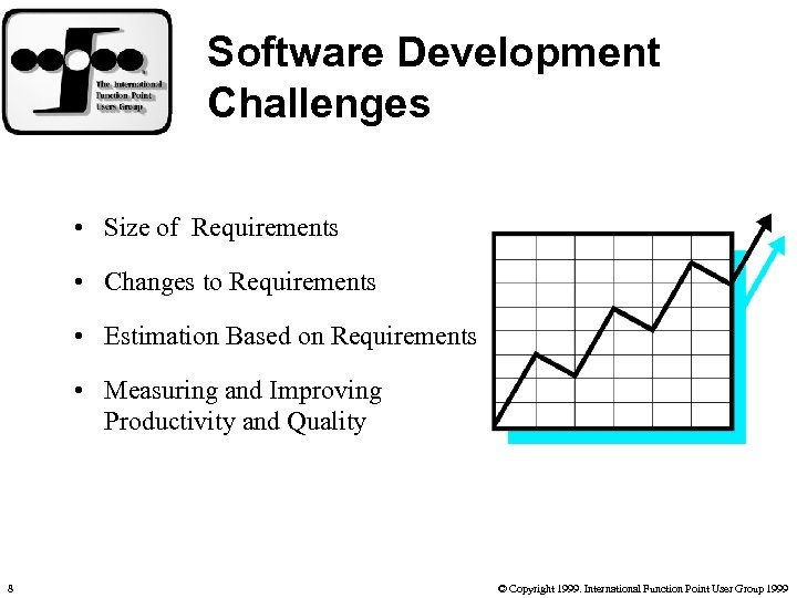 Software Development Challenges • Size of Requirements • Changes to Requirements • Estimation Based