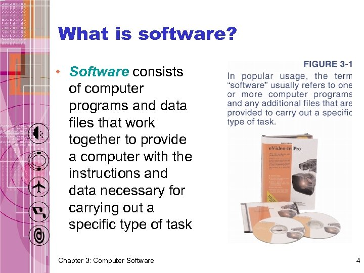 What is software? • Software consists of computer programs and data files that work