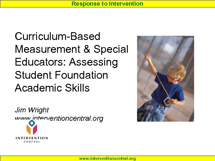 Response To Intervention Curriculum Based Measurement Special Educators View this week's first entry for recommendations on using accommodations in. response to intervention curriculum