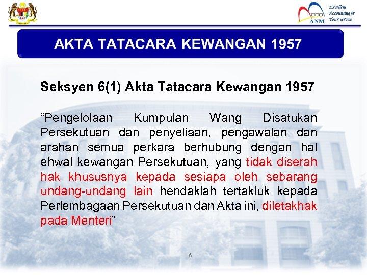 Jabatan Akauntan Negara Malaysia Pengurusan Perolehan Disediakan Oleh