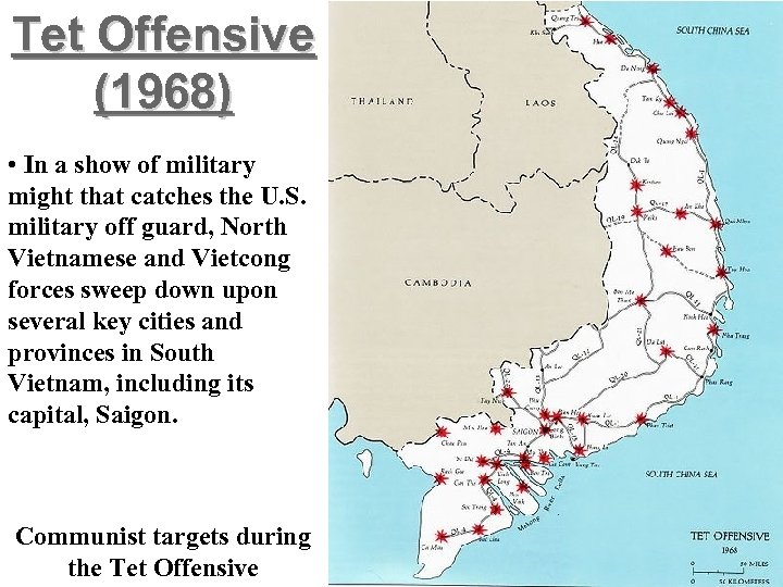 Tet Offensive (1968) • In a show of military might that catches the U.