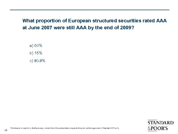 What proportion of European structured securities rated AAA at June 2007 were still AAA