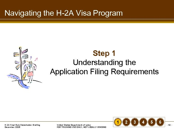 Navigating the H-2 A Visa Program Step 1 Understanding the Application Filing Requirements H-2