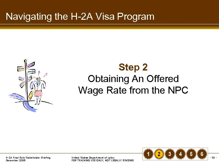Navigating the H-2 A Visa Program Step 2 Obtaining An Offered Wage Rate from