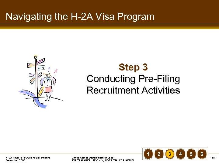 Navigating the H-2 A Visa Program Step 3 Conducting Pre-Filing Recruitment Activities H-2 A