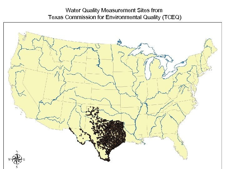 Water Quality Measurement Sites from Texas Commission for Environmental Quality (TCEQ)