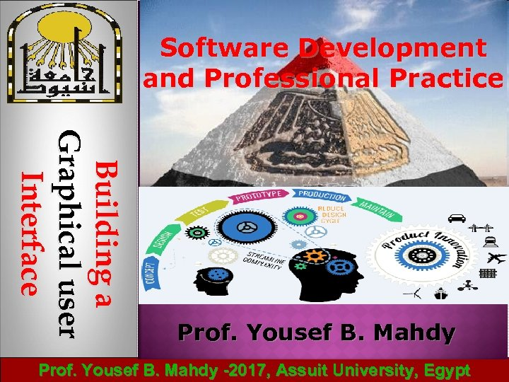 Software Development and Professional Practice B u ild in g a Graphical user Interface