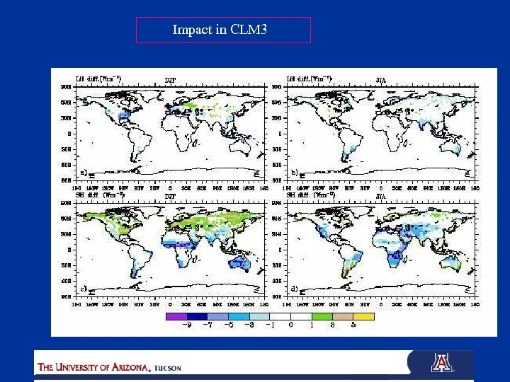 Impact in CLM 3