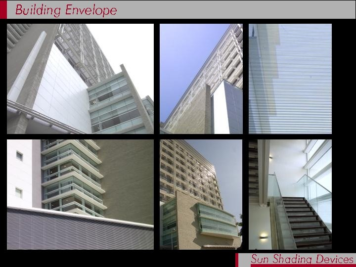 Building Envelope Sun Shading Devices