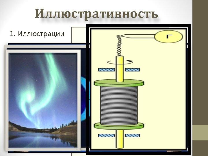 Иллюстративность 1. Иллюстрации