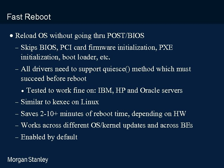 prototype template (5428278)print library_new_final. ppt Fast Reboot · Reload OS without going thru POST/BIOS