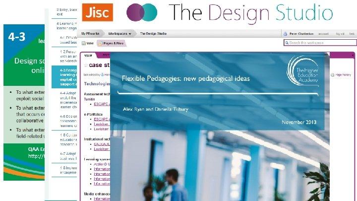 Web-link and QR Code http: //www. enhancementthemes. ac. uk/toolkits/flexible-curriculum