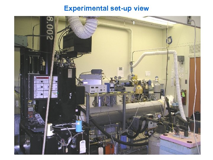 Experimental set-up view