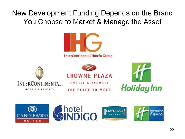New Development Funding Depends on the Brand You Choose to Market & Manage the