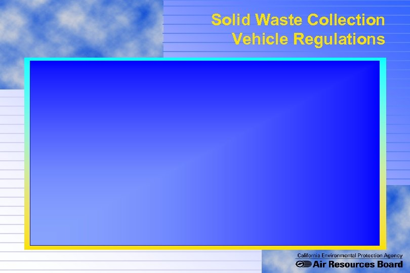Solid Waste Collection Vehicle Regulations