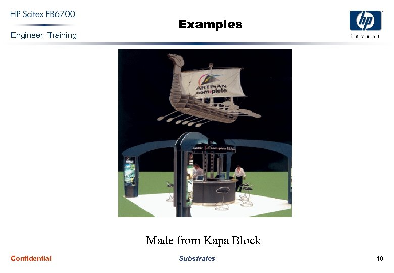 Engineer Training Examples Made from Kapa Block Confidential Substrates 10