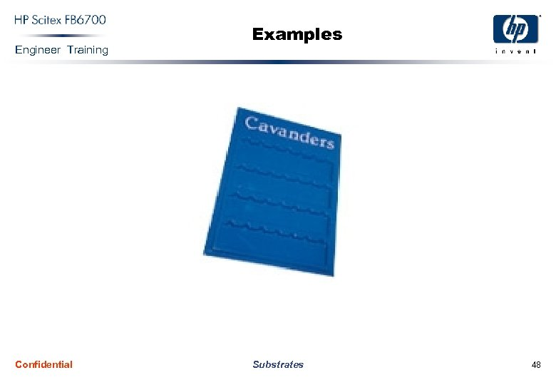 Engineer Training Confidential Examples Substrates 48