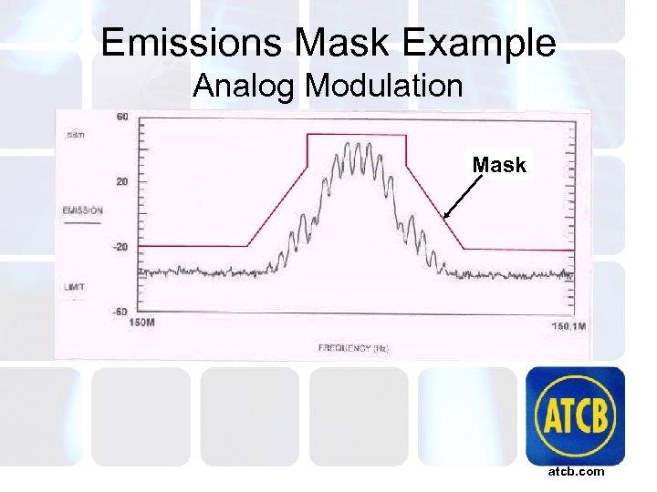Emissions Mask Example Analog Modulation Mask atcb. com