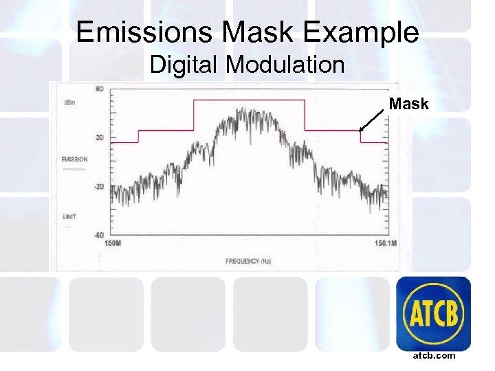Emissions Mask Example Digital Modulation Mask atcb. com