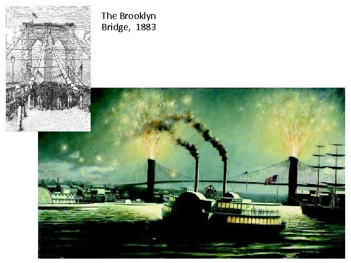 The Brooklyn Bridge, 1883