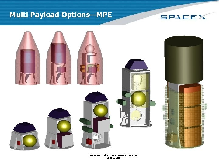 Multi Payload Options--MPE Space Exploration Technologies Corporation Spacex. com