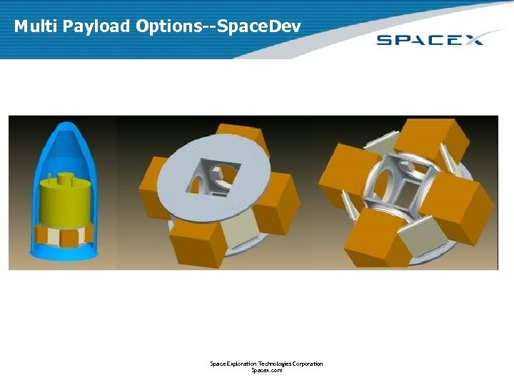 Multi Payload Options--Space. Dev Space Exploration Technologies Corporation Spacex. com