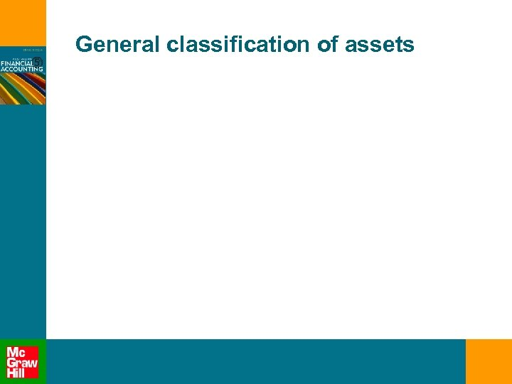 General classification of assets