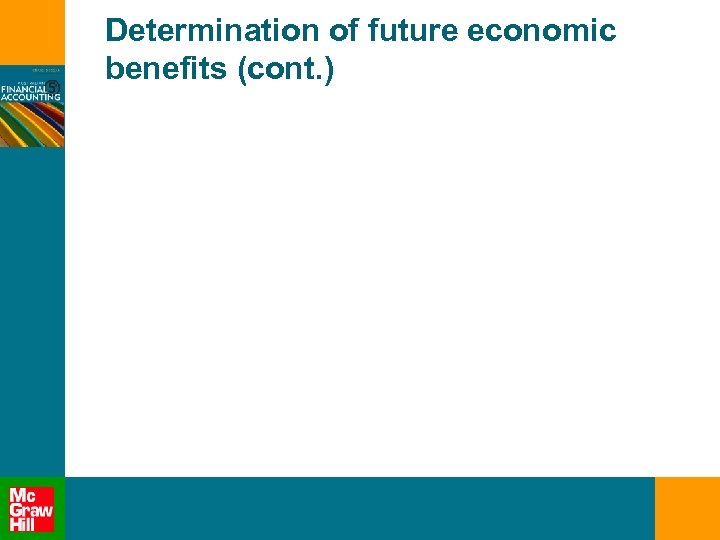 Determination of future economic benefits (cont. )
