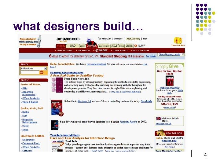 what designers build… 4