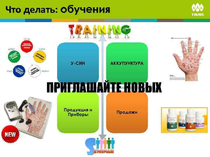 Что делать: обучения У-СИН АККУПУНКТУРА ПРИГЛАШАЙТЕ НОВЫХ Продукция и Приборы Продажи