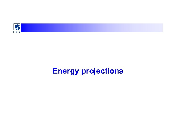 Energy projections