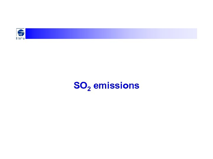 SO 2 emissions