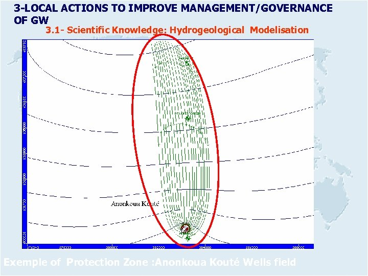 3 -LOCAL ACTIONS TO IMPROVE MANAGEMENT/GOVERNANCE OF GW 3. 1 - Scientific Knowledge: Hydrogeological