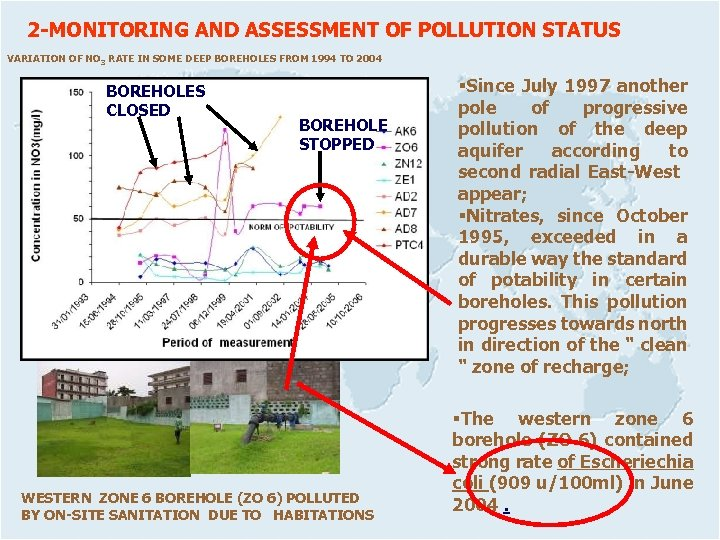 2 -MONITORING AND ASSESSMENT OF POLLUTION STATUS VARIATION OF NO 3 RATE IN SOME