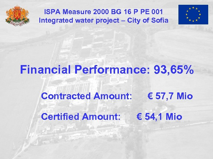ISPA Measure 2000 BG 16 P PE 001 Integrated water project – City of