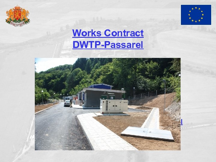 Works Contract DWTP-Passarel DWTP Passarel